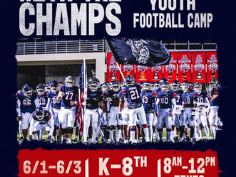 2021 Camp with the Champs - Sign Up Now!!!