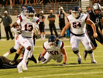 Ground game carries Ryan to tight win over rival Guyer (Denton RC)