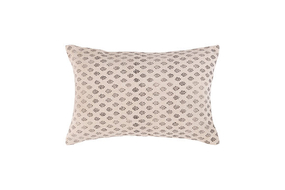 Chloe Cushion- Black/Ivory