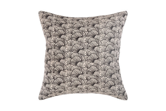 Coral Cushion- Black