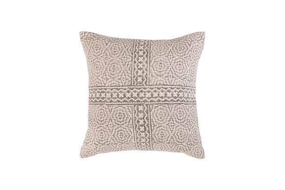 Harper cushion-  soft grey