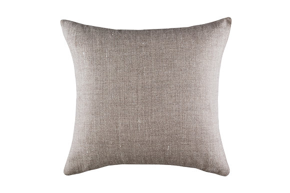 Jasmine Woollen Cushion- Grey