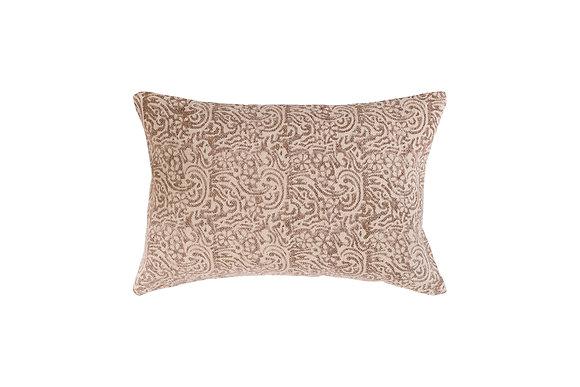 Mila cushion- Musk/Ivory