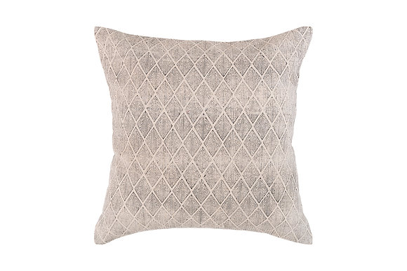 Diamond Print- Soft Grey