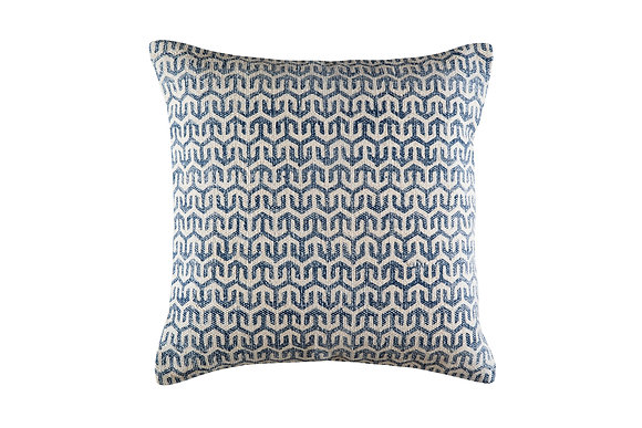 Billy Cushion - Blue/White