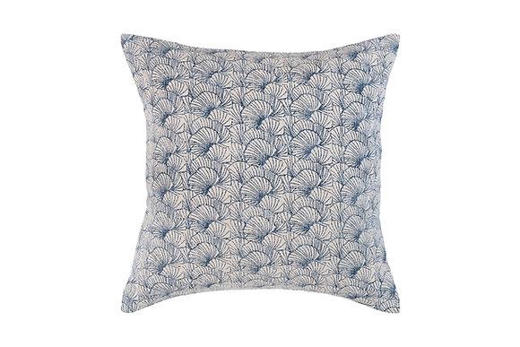Coral Cushion- Blue