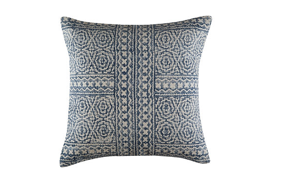Harper Cushion - Blue/White (SOLD OUT)