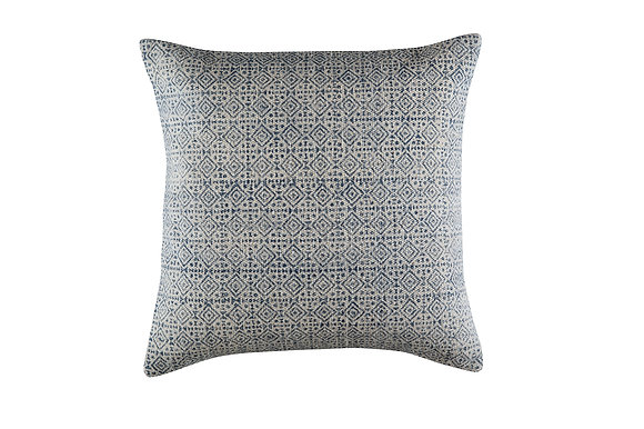 Charlie Cushion - Blue/White (SOLD OUT)