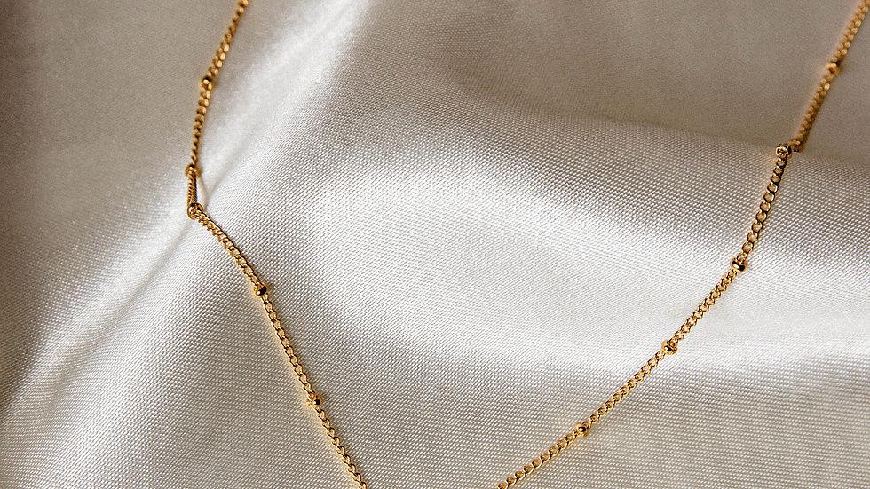 Gold Vermeil Amazonite Necklace