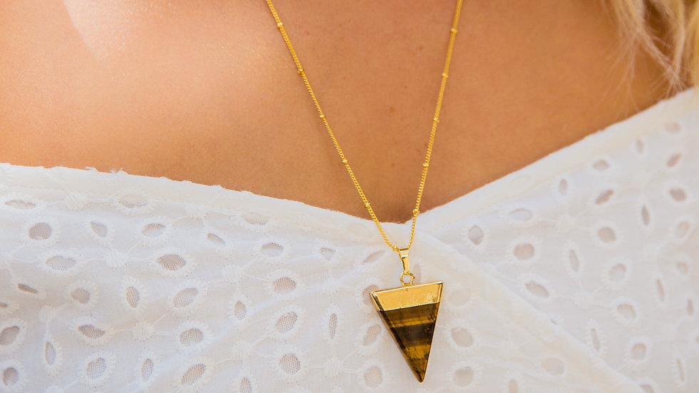 Athena Tiger's Eye Necklace