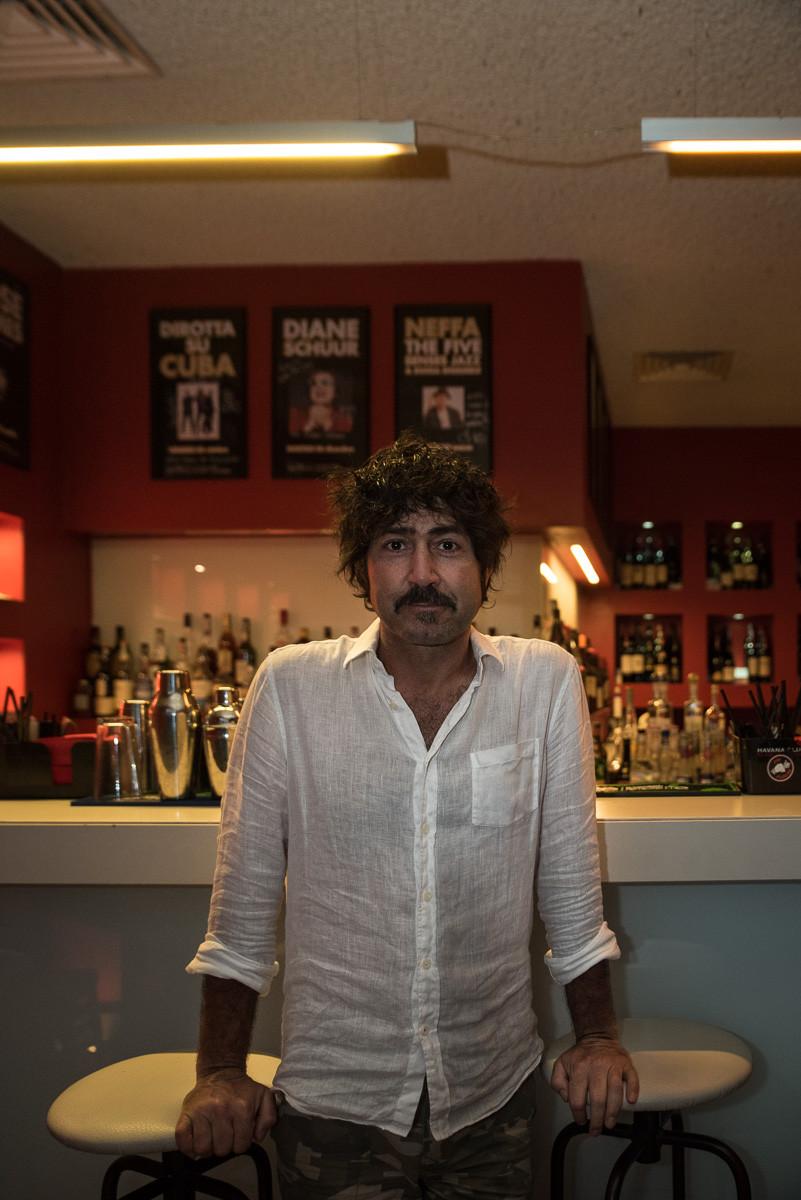 Massimiliano Cattoli (in arte Max), proprietario del Bravo Caffè di Bologna.
