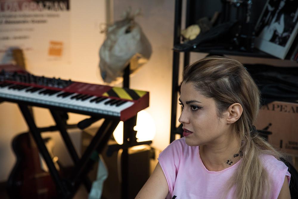 Beatrice Antolini intervistata per Rockography