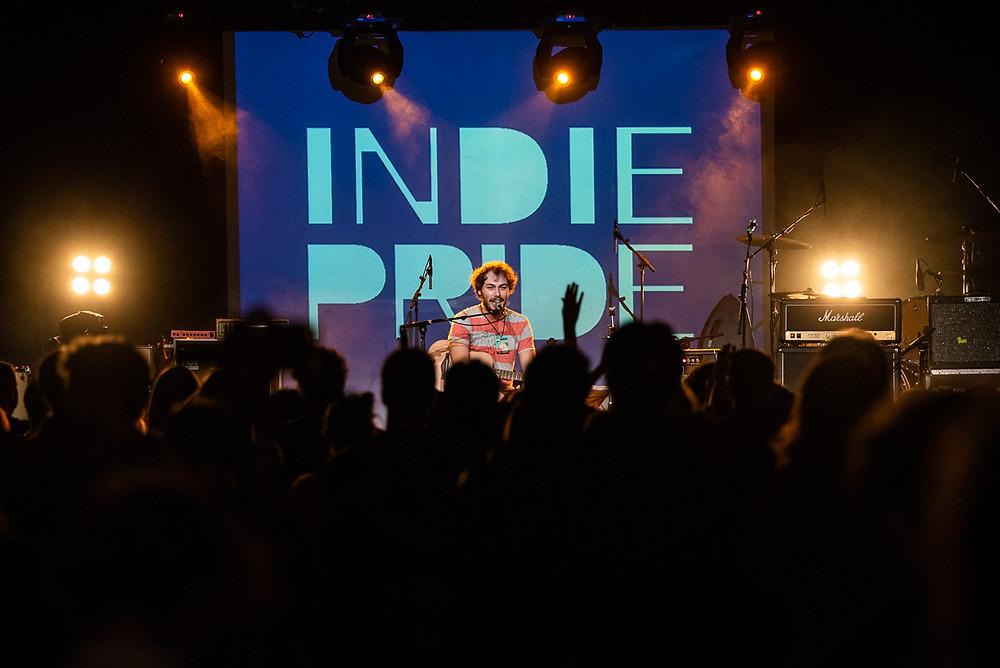 Riccardo Zanotti live al festival Indie Pride di Bologna