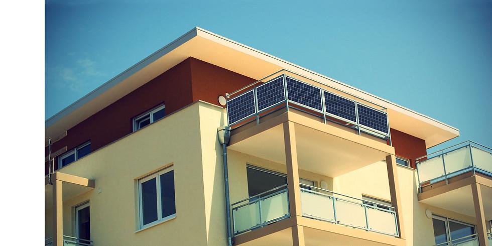 BALKONKRAFTWERKE - Solarstrom für Jedermann