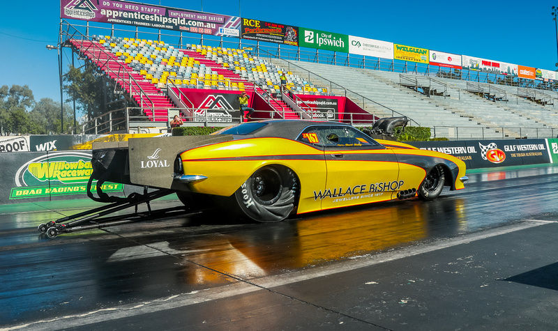 Stuart Bishop Drag Car