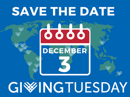 Support Giving Tuesday - 3 Dec, 2019