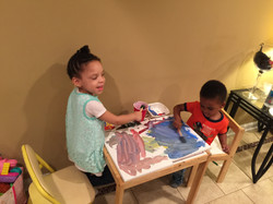 Painting Babies