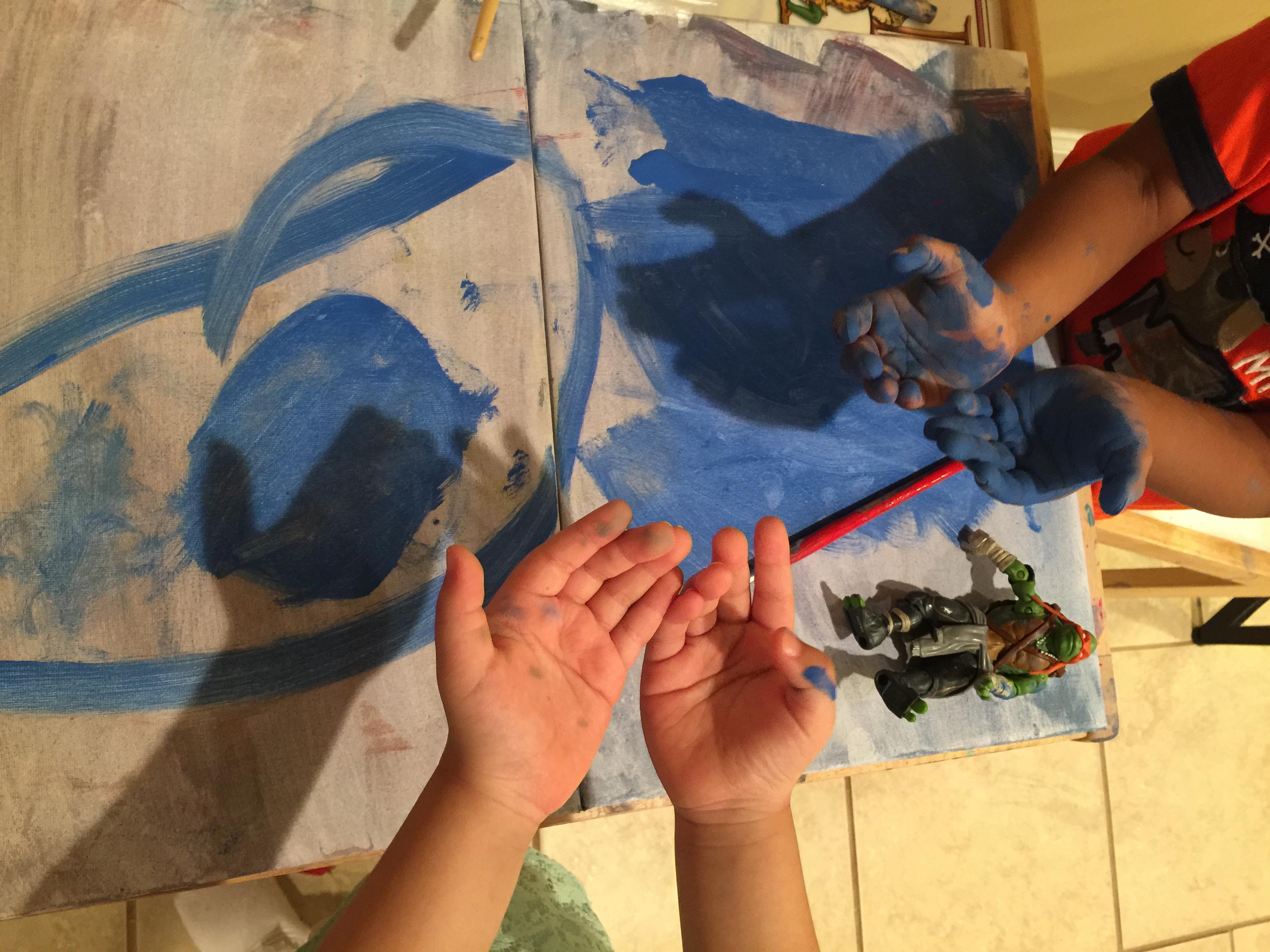 Painting Boys vs. girls