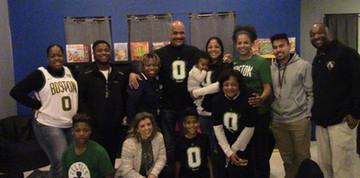 Tatum Foundation volunteers and AM staff