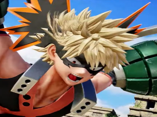 BAKUGO JUMPS INTO THE FIGHT