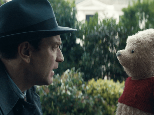 """""""CHRISTOPHER ROBIN"""" HAS GROWN UP"""