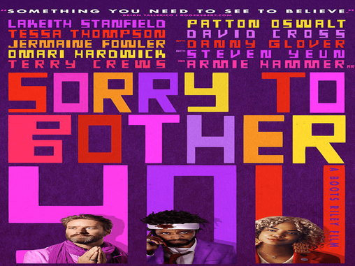 """LATE TO THE PARTY: """"SORRY TO BOTHER YOU"""""""