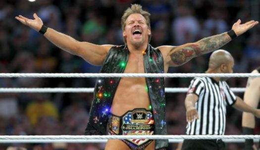 Jericho is no stranger to the United States Championship as he has won the WWE's version of the belt.