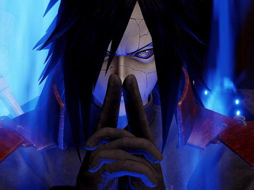MADARA JUMPS INTO THE FIGHT