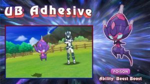 The new Ultra Beast Adhesive is a pure Poison type.