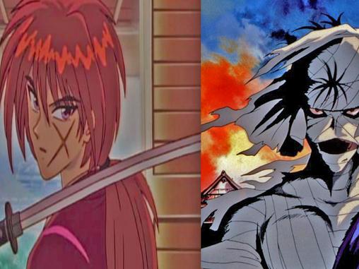 KENSHIN AND SHISHIO JUMP INTO THE FIGHT