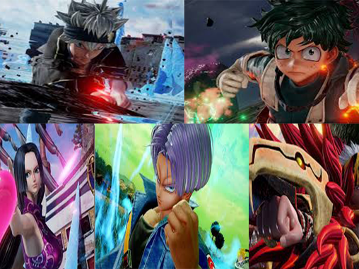 FIVE NEW CHARACTERS JUMP INTO THE FIGHT