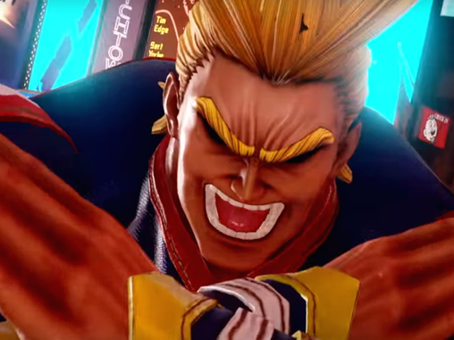 ALL MIGHT JUMPS INTO THE FIGHT