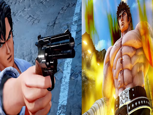 KENSHIRO AND RYO JUMP INTO THE FIGHT