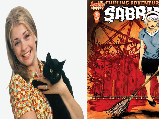 """""""SABRINA: THE TEENAGE WITCH"""" RETURNS TO ITS DARK ROOTS"""