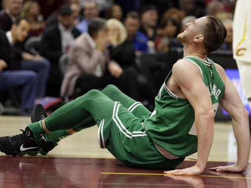 NBA OPENER SUFFERS A FLOP