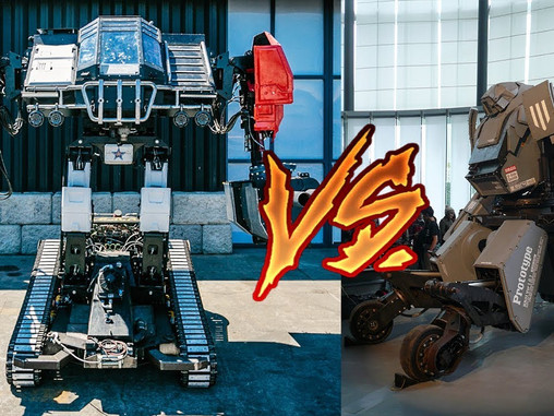 USA DEFEATS JAPAN IN A GIANT ROBOT FIGHT!