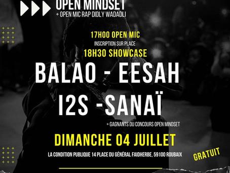 Open Mindset - Dimanche 4 juillet !