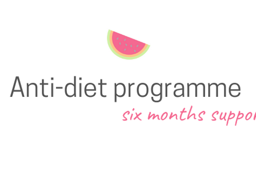 Anti Diet Programme