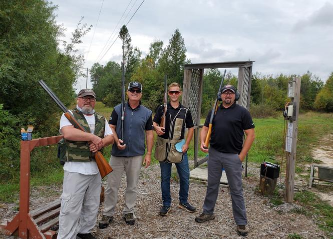 Clay shoot team 2020