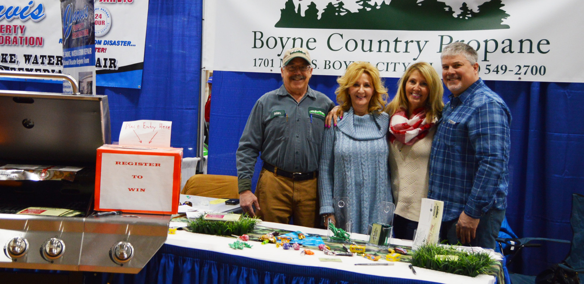 The team at Boyne Country Propane