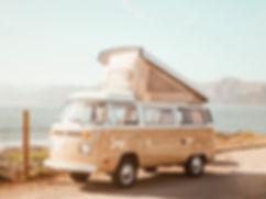 Vintage Beige Van