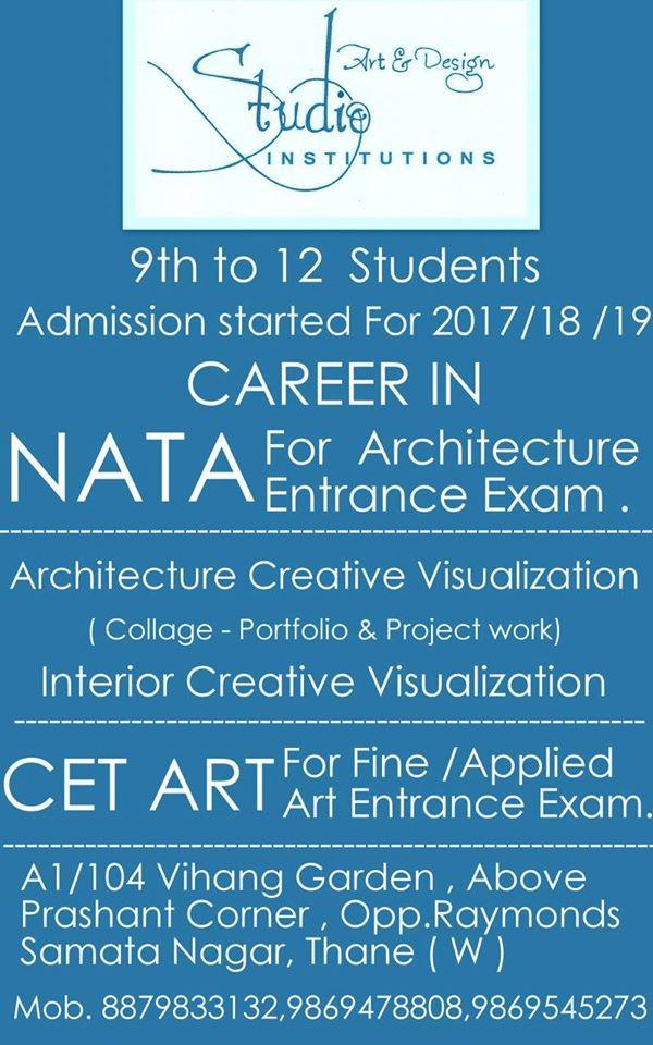 B.Arch Entrance Exam Training Institute