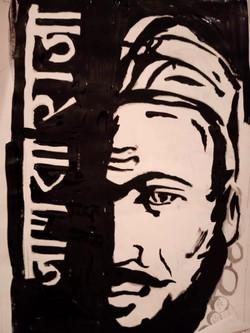 chhatrapati shivaji maharaj drawing