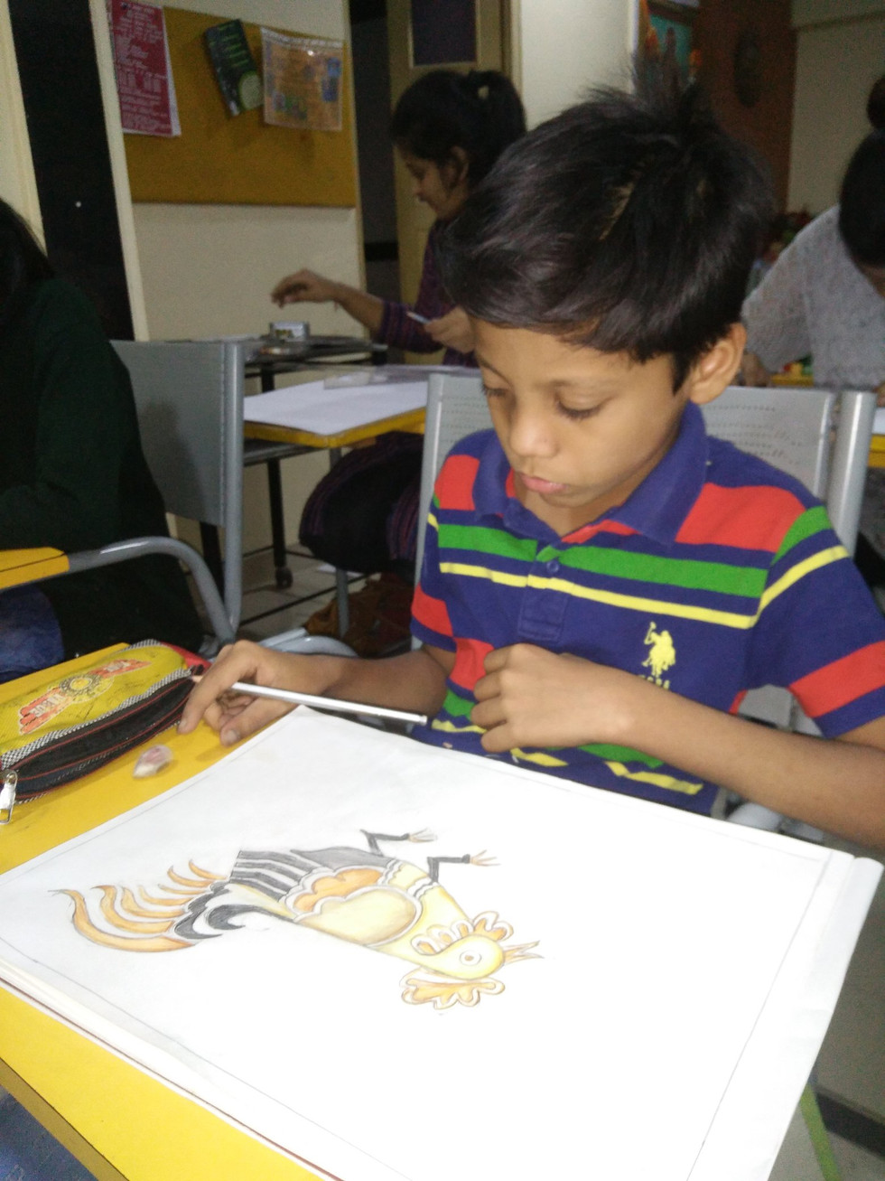 Sumeet  Jagushte  Course  Art Classes Fo