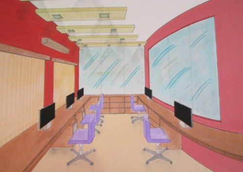 One point perspective  Office.JPG