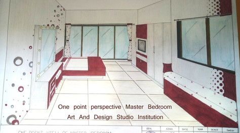 One point perspective Master Bedroom.jpg