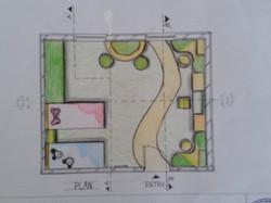 Children Bedroom Plan