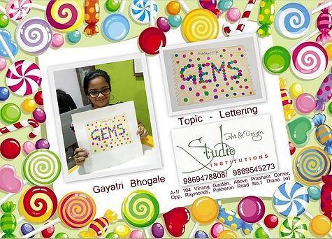 Lettering GEMS, Elementary & Intermediat