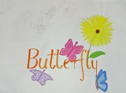 Butterfly Lettering