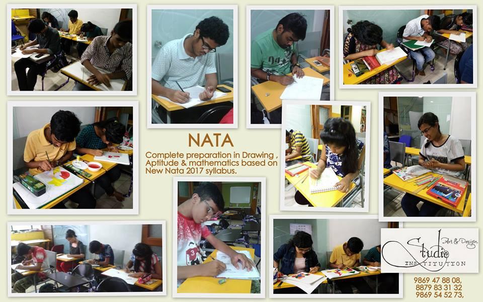 Best Coaching class for NATA , Art & Des